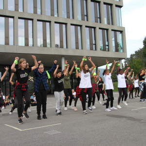 Flashmob Campus 19.September 2020
