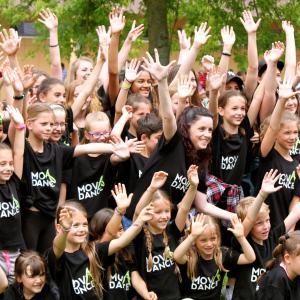 Tanzshow JUBILÄUM 50 Jahre Pauluskirche Juni 2016 Birrfeld