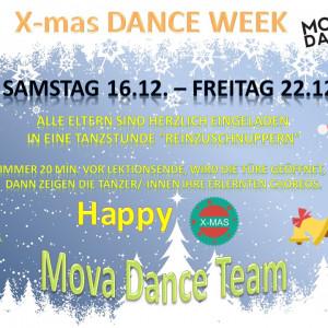 X-mas Dance Week Dezember 2017