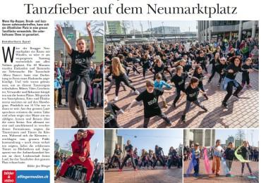 Tanzfieber auf dem Neumarktplatz im GA Ausgabe Nr.12