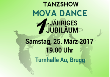 WOW 1-jähriges Jubiläum Tanzschule Mova Dance !!!