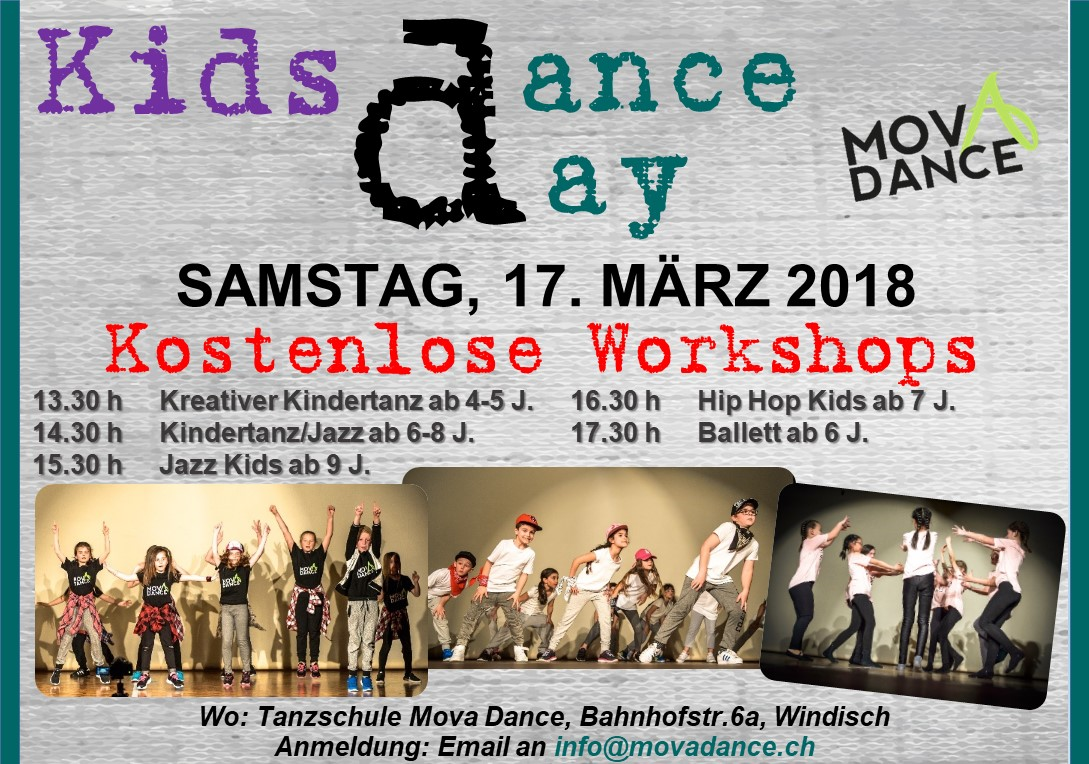 1. Free Kids Dance Day !!!!!