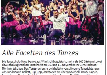 Alle Facetten des Tanzes