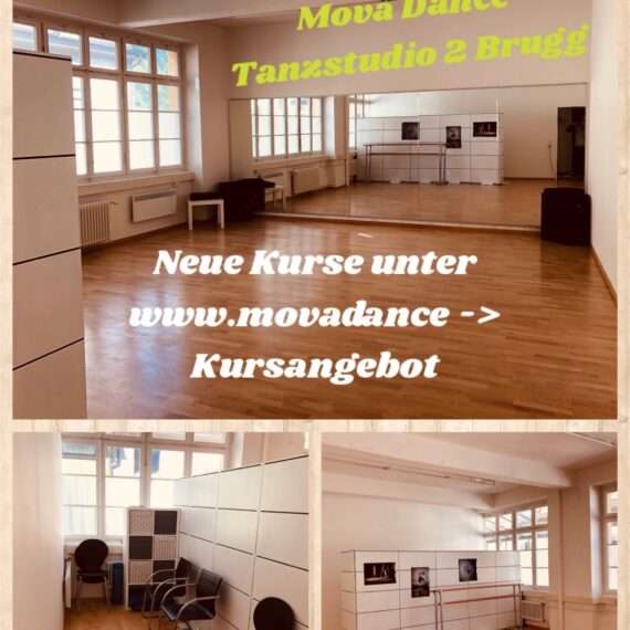 «Neues Tanzstudio in Brugg !!!»