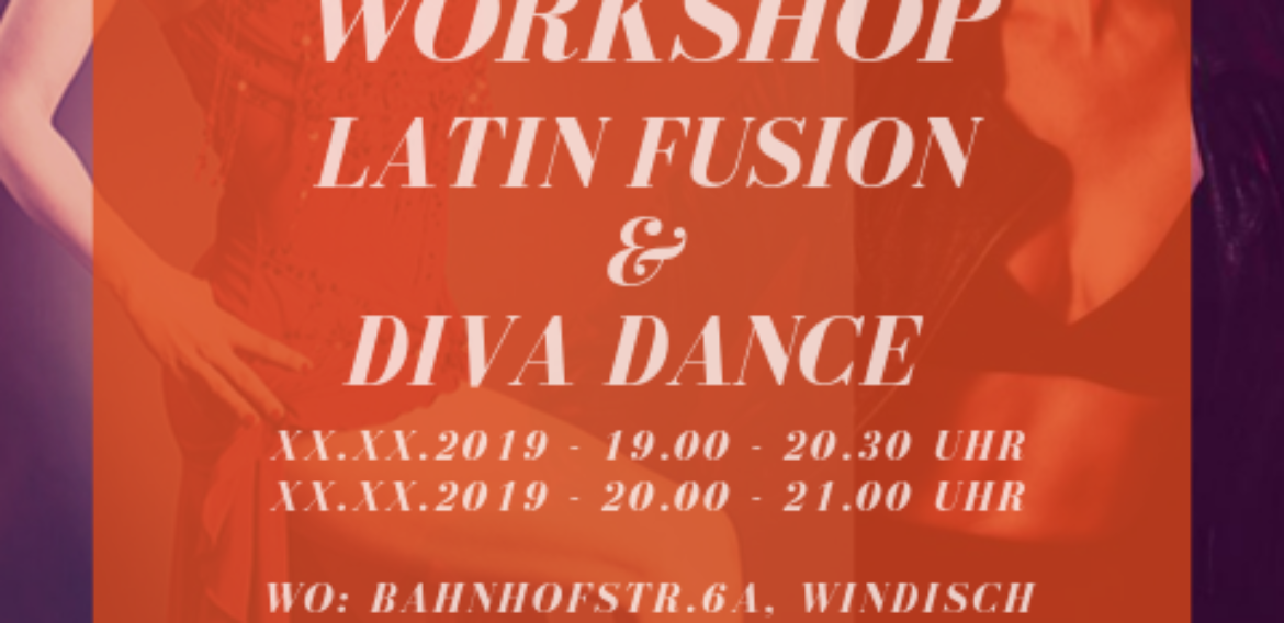 «WORKSHOP – Latin Fusion & Diva Dance»